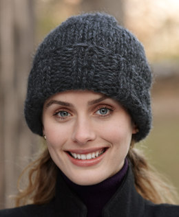 Eagle Bay Hat in Lion Brand Wool-Ease Thick & Quick - 81018D