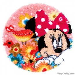Vervaco Psst I've a Secret Minnie Latch Hook Rug - PN-0168424