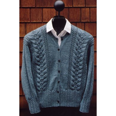 MS 164 Lace Rib Cardigan