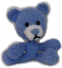 Mini Knitkinz Blue Bear