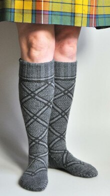 Gairloch Pattern Stockings