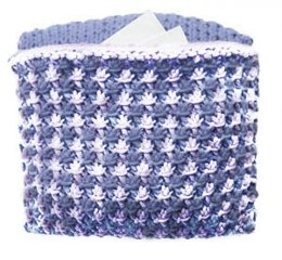 Starry Treasure Pillow in Lion Brand Cotton-Ease - 70253A