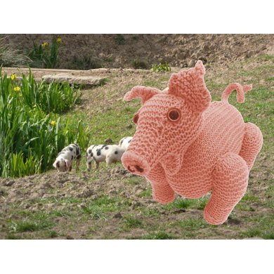 Percy Pig Farmyard Animal Toy
