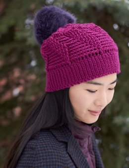 Twist 'n Shout Slouchy Hat in Patons Canadiana