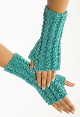 Fingerless Gloves in Plymouth Baby Alpaca Grande - F157