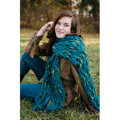 Dash Scarf in Knit Collage Pixie Dust