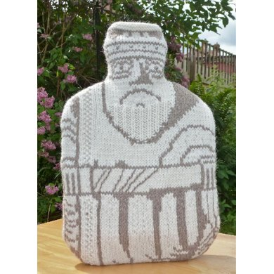 Lewis Chessmen hot water bottle cover