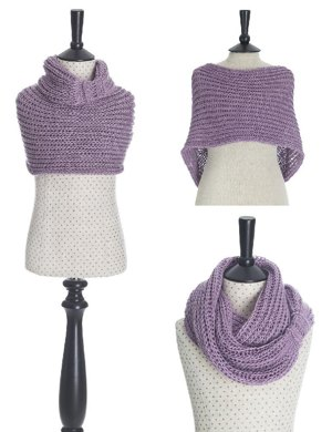 Meringue Hand Knitted Cowl