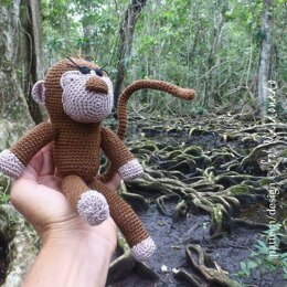 Amigurumi Monkey toy doll