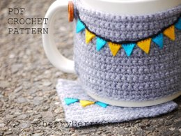 Coaster and Cup cosy