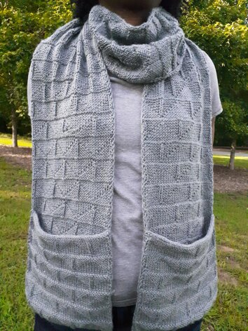 The Step-Up Pocket Scarf