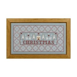 Historical Sampler Company Christmas Sampler Cross Stitch Kit - 16ct Aida