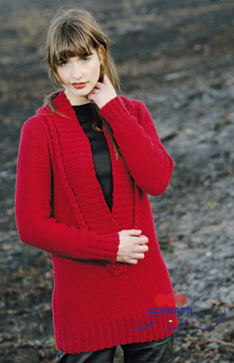 Marilyn Pullover in Adriafil Duo Comfort - Downloadable PDF