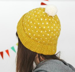 A Most Bespeckled Hat