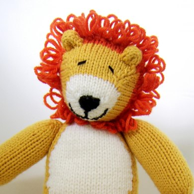 Loopy Lion Knitting Pattern By Browneyedbabs Knitting Patterns