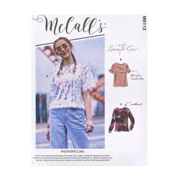 McCall's Misses' Tops M8112 - Sewing Pattern
