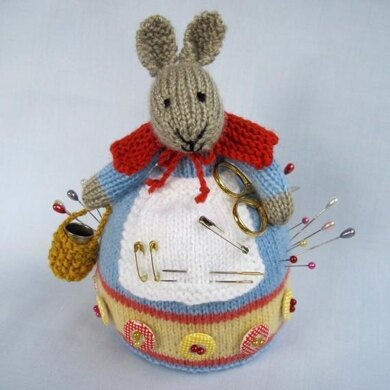 Rowena Rabbit Pincushion