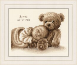 Vervaco Sweet Dreams Cross Stitch Kit - 28cm x 22cm