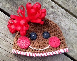 Gingerbread Cookie Hat