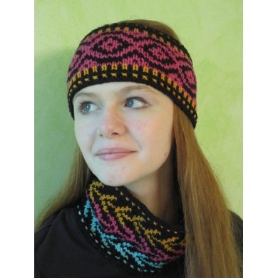 Annaliese Headbands and Neckwarmer