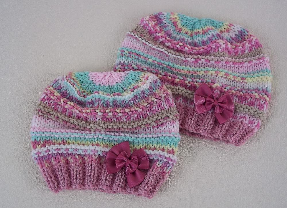 Beginners Baby Beanie Hat Knitting pattern by Precious ...