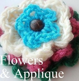 Crochet Flower | Crochet Patten by Ashton11