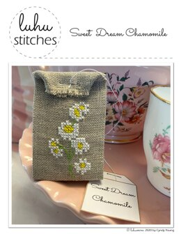 Luhu Stitches Sweet Dream Chamomile - Downloadable PDF