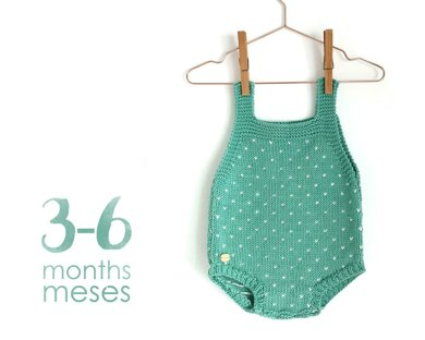 Size 3-6 months - Topitos Baby Romper
