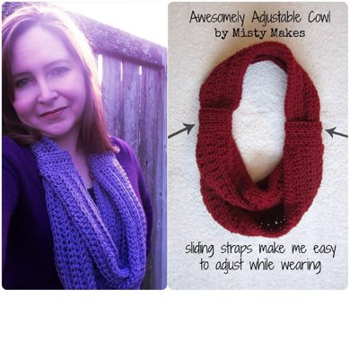 Awesomely Adjustable Cowl