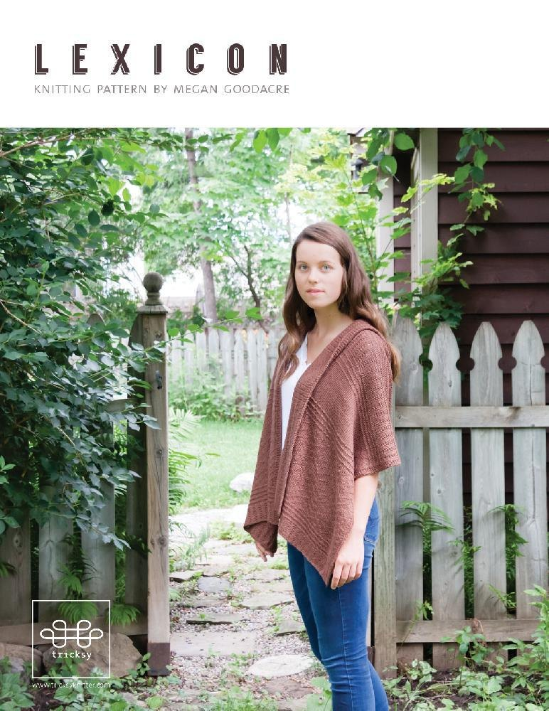 9ad70a5fd487 Lexicon Knitting pattern by Megan Goodacre
