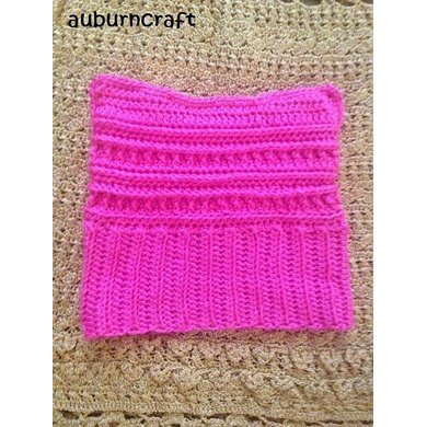 Pussy Cat Hat Carries Crochet Pattern By Auburncraft