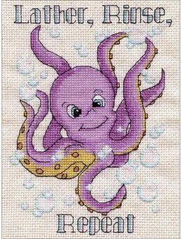 Design Works Octopus Cross Stitch Kit