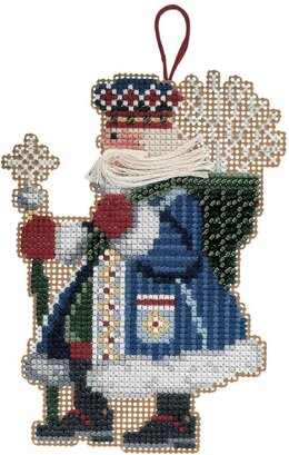 Mill Hill Frosty Santa Cross Stitch Kit