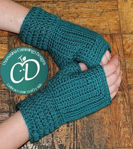 Fingerless Mitts (Mitre Style)