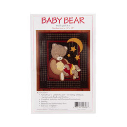Rachel's Of Greenfield Baby Bear Quilt Kit