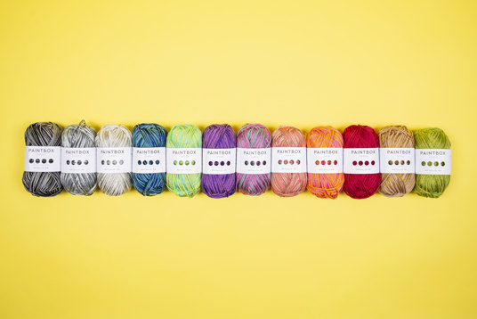 Paintbox Metallic Full Yarn Collection
