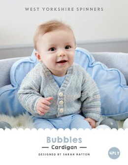 Bubbles Cardigan in West Yorkshire Spinners Bo Peep 4 Ply - DBP0016 - Downloadable PDF