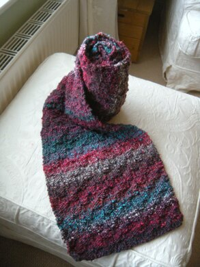 Basket Weave Scarf Knitting Pattern By Samantha Paya