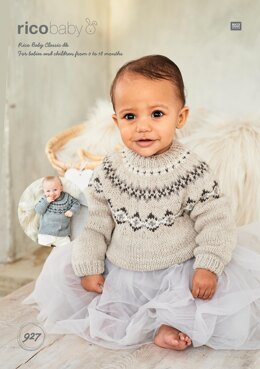 Sweaters in Rico Baby Classic DK - 927 - Downloadable PDF