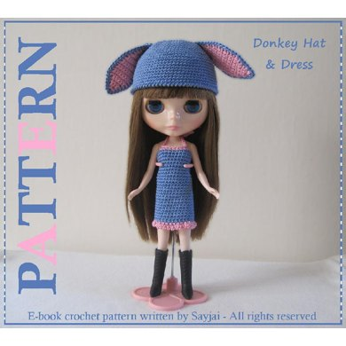 Crochet Doll Clothes & Shoes - Doll Dress Pattern Collection ... | 390x390