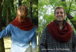 Classic Crochet Cowl Man or Woman