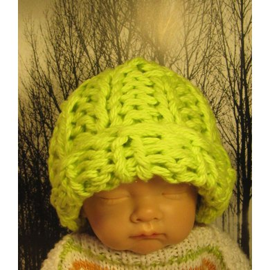 Baby Extra Superfast 20 Minute All Rib Beanie Hat