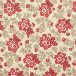 Moda Fabrics French General - Atelier De France Cut to Length - Oyster Floral