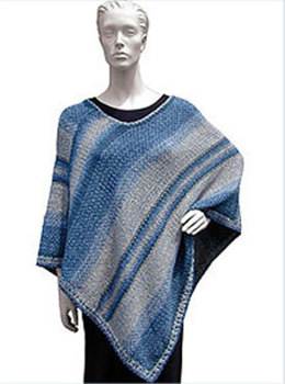 Woven Poncho in Knit One Crochet Too 2nd Time Cotton - 1188