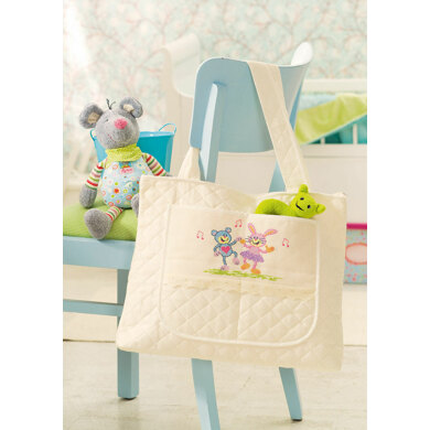 Friends Forever - Baby Bag in Anchor - Downloadable PDF