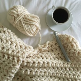 Super Chunky Crochet Throw