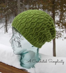 """""""Winter Waves"""" Reversible Beanie & Slouch"""