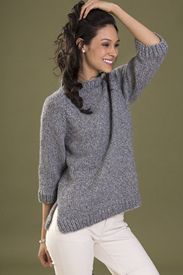 Confidence Pullover in Tahki Yarns Zona