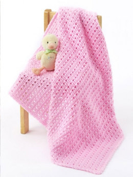 One Skein Baby Blanket in Caron One Pound - Downloadable PDF