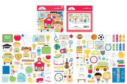 Doodlebug Odds & Ends Die-Cuts - School Days, 116/Pkg
